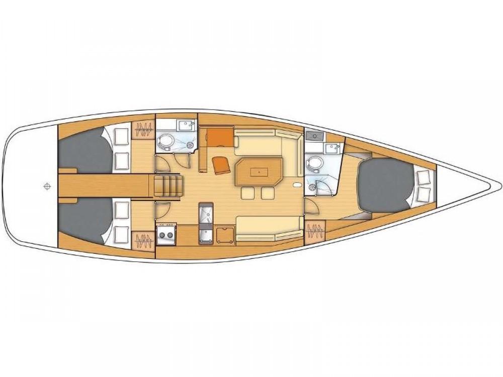 Yacht-Charter in Kaštel Gomilica - Bénéteau Beneteau First 45 auf SamBoat