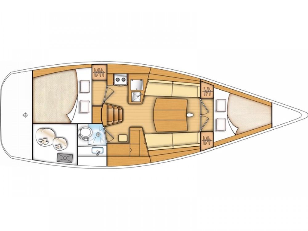 Segelboot mieten in Kaštel Gomilica - Bénéteau Beneteau First 35