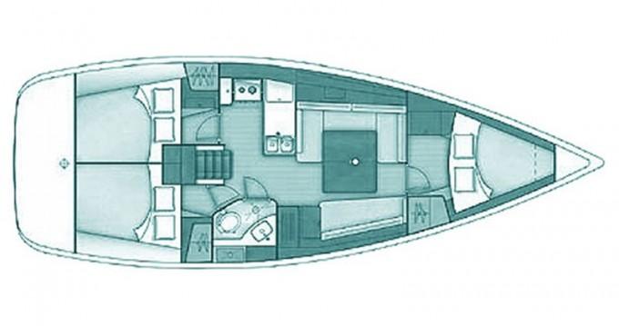 Yacht-Charter in Skópelos - Bénéteau Oceanis 37 auf SamBoat