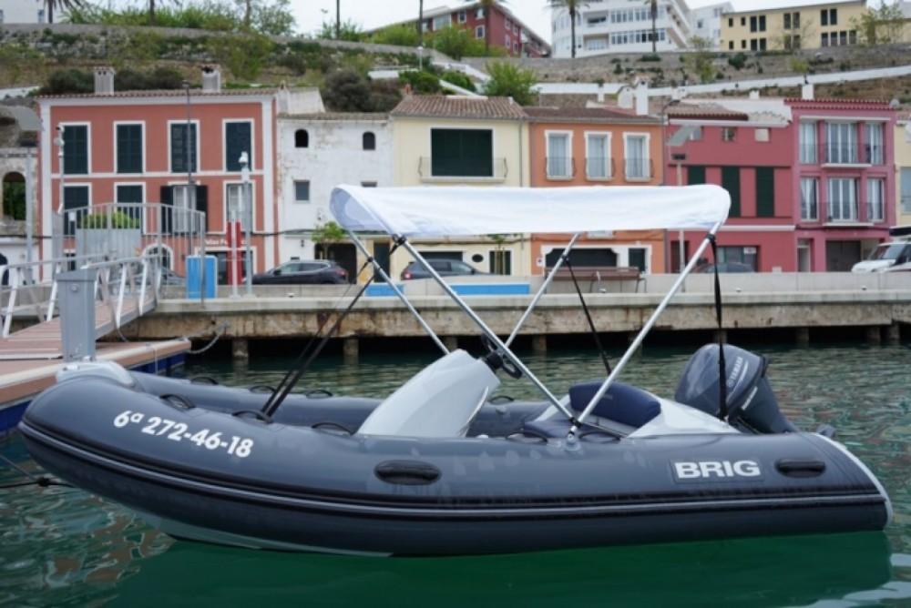 Motorboot mit oder ohne Skipper Brig mieten in Maó
