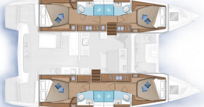 Yacht-Charter in Kos - Lagoon Lagoon 46 auf SamBoat