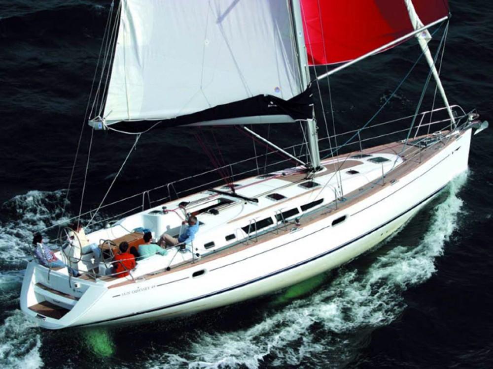 Bootsverleih  günstig Sun Odyssey 49