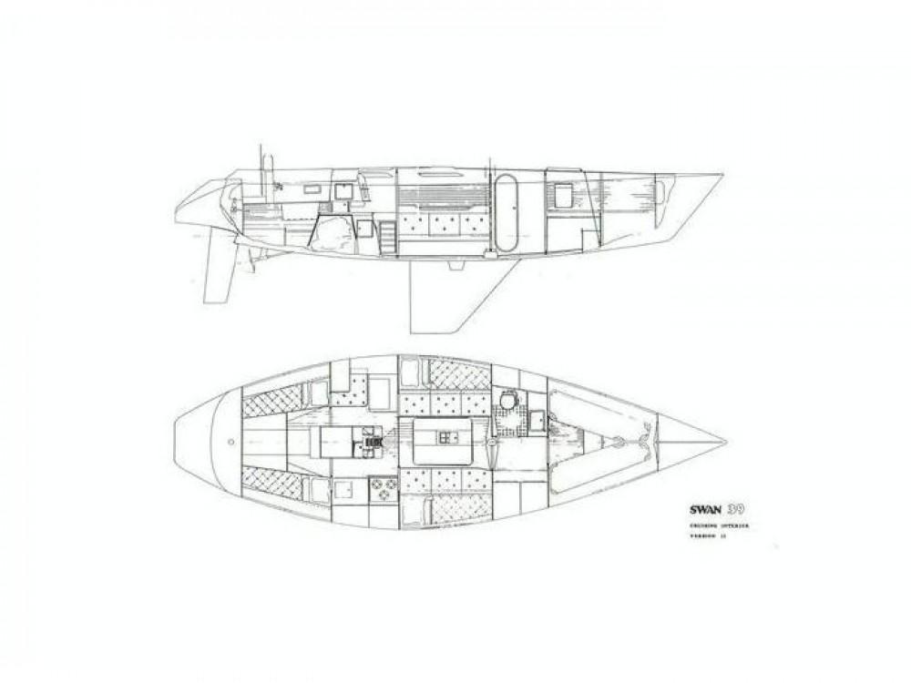 Bootsverleih  günstig Swan 39