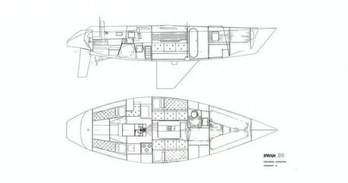 Swan 39 zwischen Privatpersonen und professionellem Anbieter Punta Ala