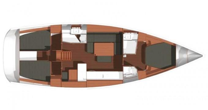 Bootsverleih Dufour Dufour 450 Owner version Kaštel Gomilica Samboat