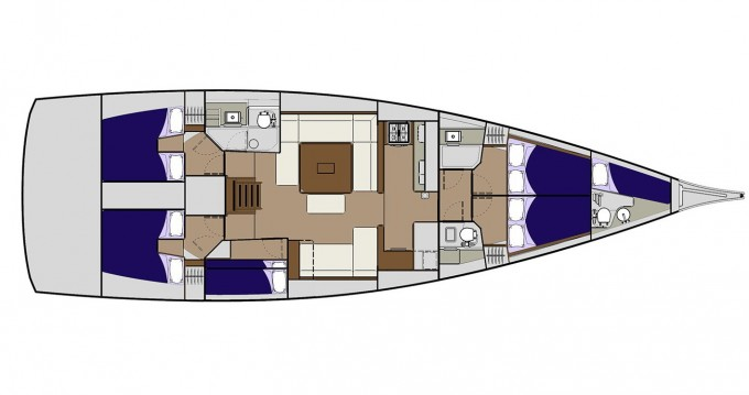 Segelboot mit oder ohne Skipper Dufour mieten in Veruda