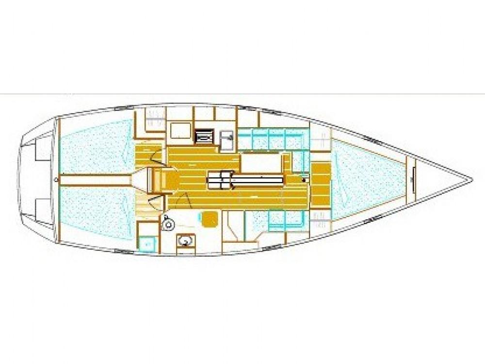 Segelboot mit oder ohne Skipper Alubat mieten in Pula