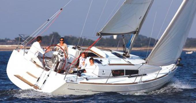 Bootsverleih Zadar günstig Sun Odyssey 36i