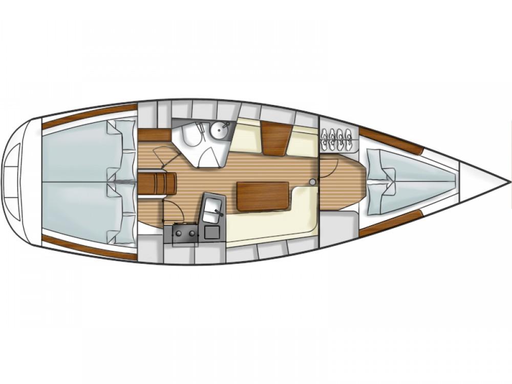 Segelboot mit oder ohne Skipper Hanse mieten in Kassandria