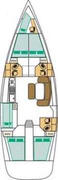 Bootsverleih Marina di Portorosa günstig Cyclades 50.5