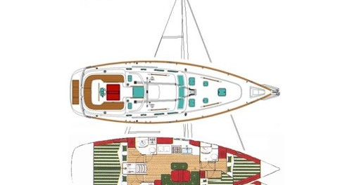 Segelboot mieten in Marina di Portorosa - Bénéteau Oceanis 423 Exclusive