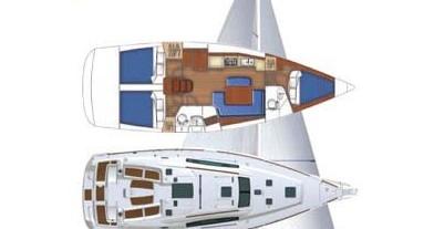 Segelboot mieten in Marina di Portorosa - Bénéteau Oceanis 43