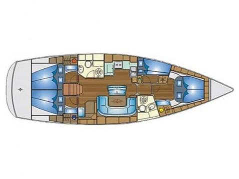 Bootsverleih Bavaria Bavaria 46 C Gouviá Samboat