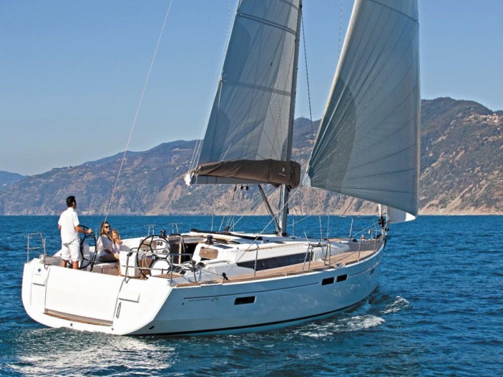 Jeanneau Sun Odyssey 519 zwischen Privatpersonen und professionellem Anbieter Las Galletas