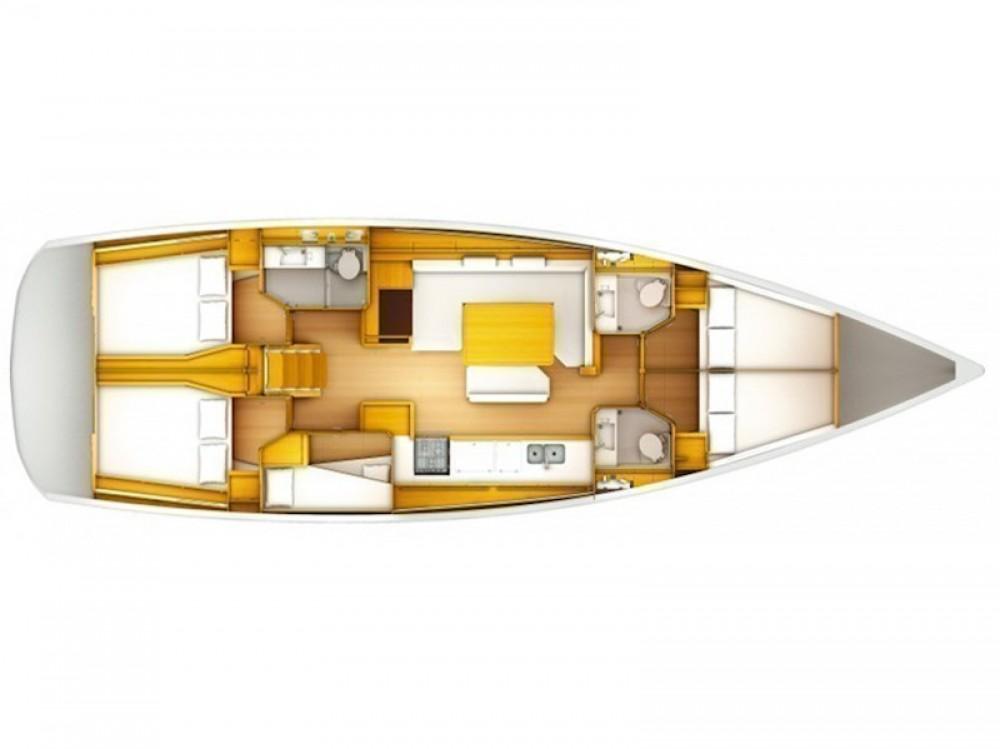 Bootsverleih Las Galletas günstig Sun Odyssey 519