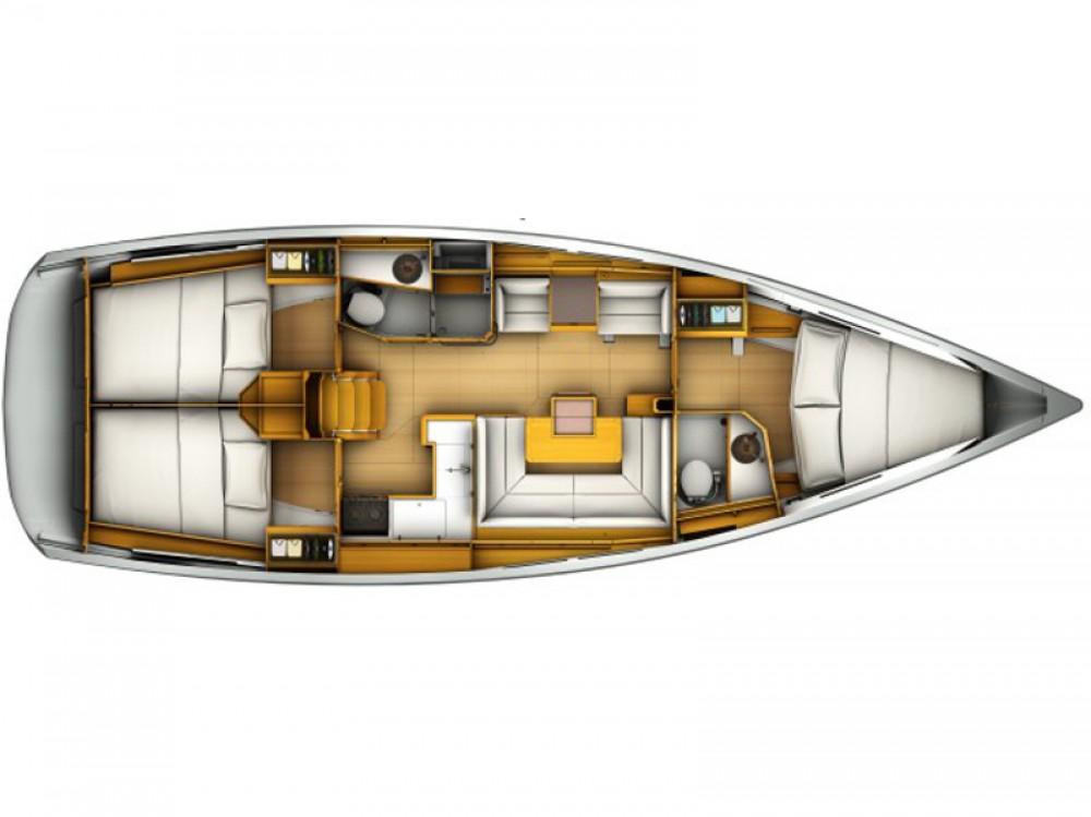 Segelboot mit oder ohne Skipper Jeanneau mieten in Arona