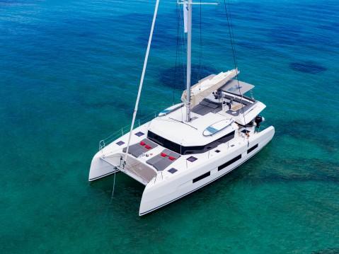 Bootsverleih Port of Lefkada günstig Dufour 48 Catamaran