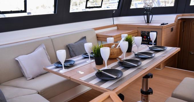 Dufour Dufour 48 Catamaran zwischen Privatpersonen und professionellem Anbieter Port of Lefkada