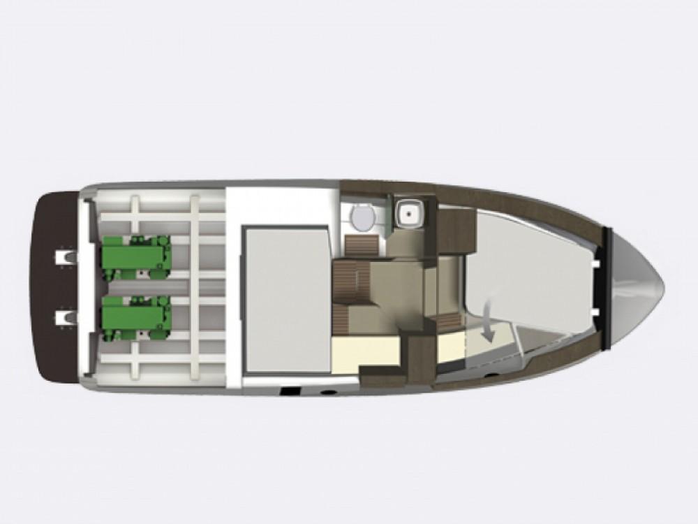 Yacht-Charter in Trogir -  Grandezza 34 OC auf SamBoat