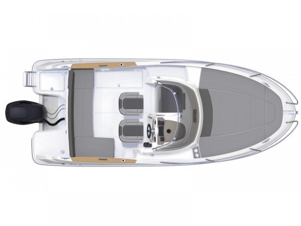 Motorboot mit oder ohne Skipper Jeanneau mieten in Trau