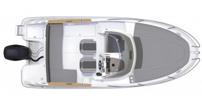 Bootsverleih Trogir günstig Jeanneau Cap Camarat 6.5 WA S2