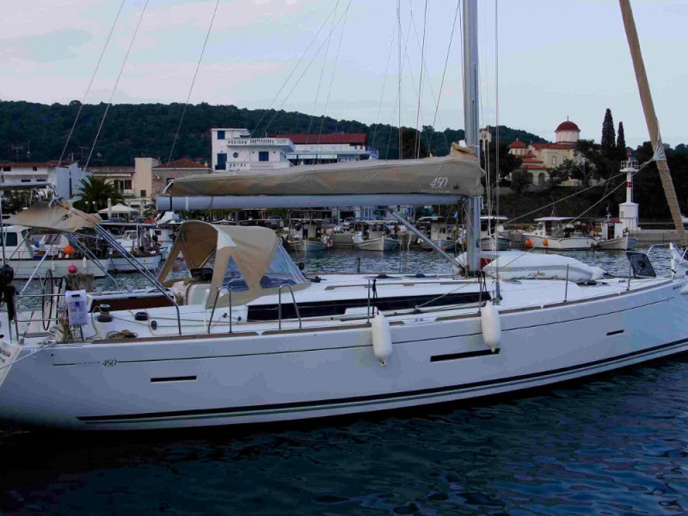 Segelboot mieten in Álimos - Dufour Dufour 450 GL