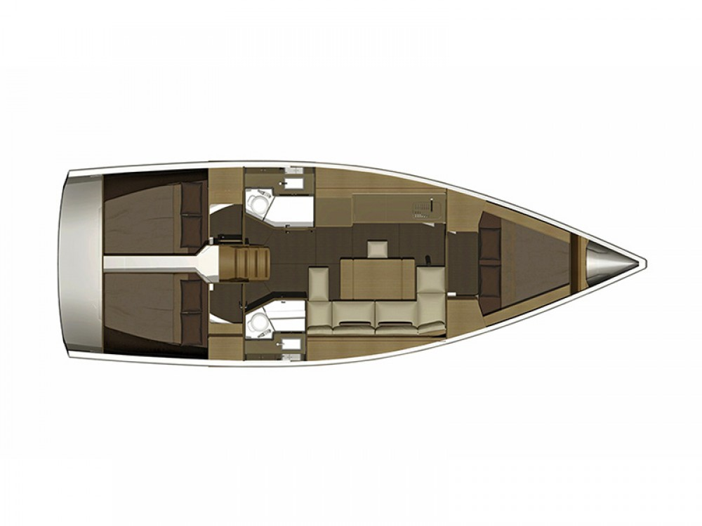 Bootsverleih Dufour Dufour 382 GL Šibenik Samboat