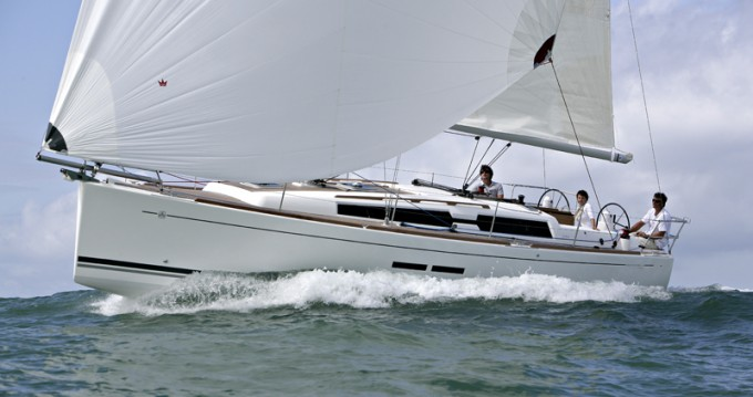 Bootsverleih Šibenik günstig Dufour 375 GL