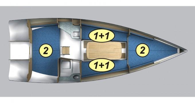 Segelboot mieten in Wilkasy - Northman Maxus 28 Prestige +