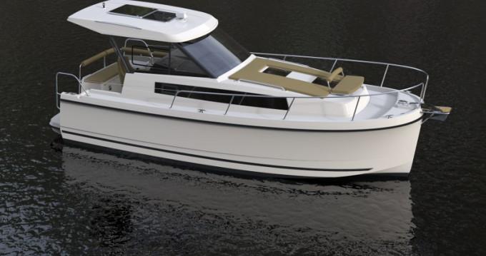 Motorboot mit oder ohne Skipper Northman mieten in Wilkasy