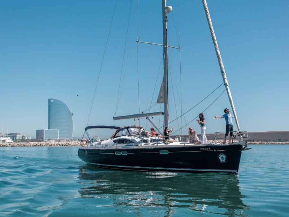 Segelboot mieten in Barcelona - Jeanneau Jeanneau Sun Odyssey 54DS