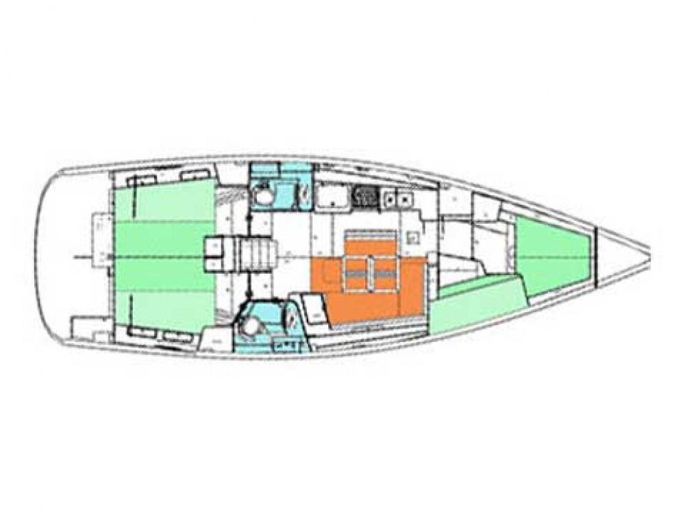 Segelboot mit oder ohne Skipper Bénéteau mieten in Barcelona