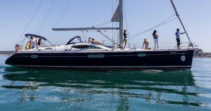 Segelboot mieten in Palma de Mallorca - Jeanneau Jeanneau Sun Odyssey 54DS