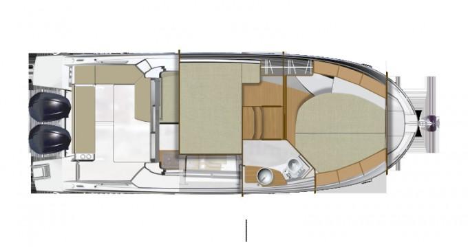 Bootsverleih Zadar günstig Antares 9 OB