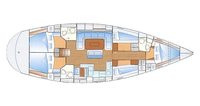 Bootsverleih Bavaria Bavaria 50 Cruiser Port de Sitges Aiguadolç Samboat