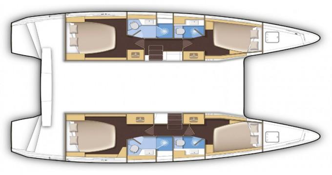 Bootsverleih Lagoon Lagoon 42 Castiglioncello Samboat