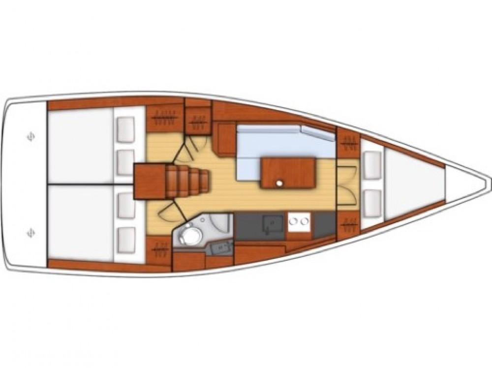 Segelboot mieten in Furnari - Bénéteau Oceanis 35.1