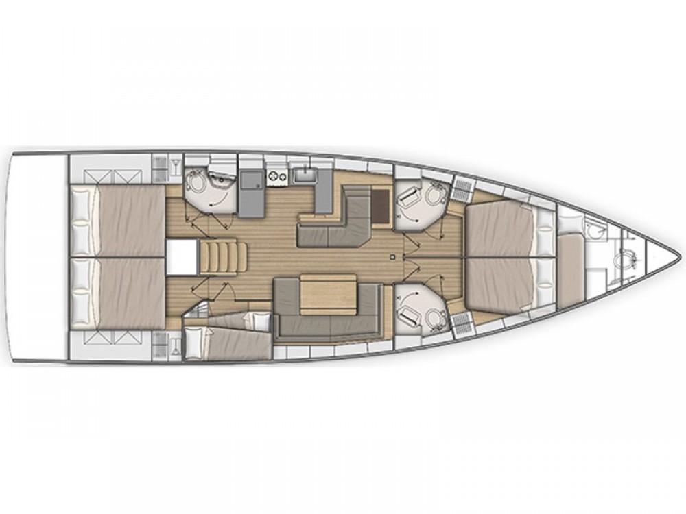 Bootsverleih Bénéteau Oceanis 51.1 (Gen+A/C) Capo d'Orlando Samboat