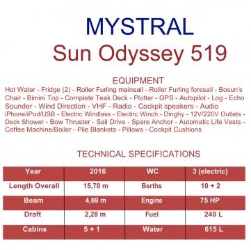 Yacht-Charter in Trapani - Jeanneau Sun Odyssey 519 auf SamBoat