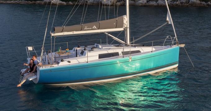 Segelboot mieten in Cogolin - Hanse Hanse 315