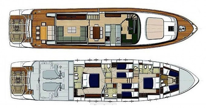 Bootsverleih Sanlorenzo San Lorenzo 72 Göcek Samboat