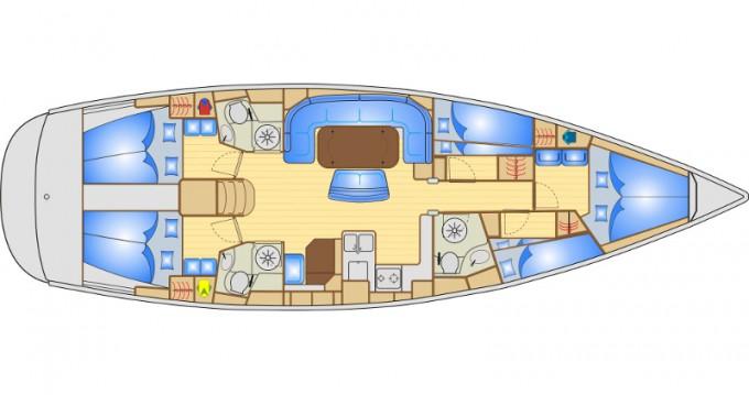 Bootsverleih Bavaria Bavaria 50 Lefkada (Island) Samboat
