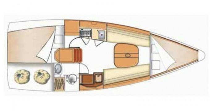 Segelboot mit oder ohne Skipper Bénéteau mieten in Kortgene