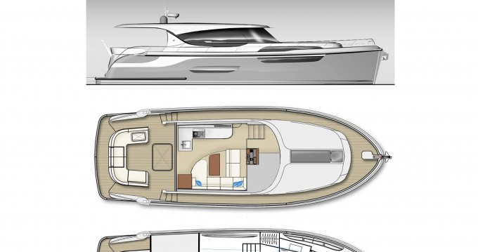 Bootsverleih  Jetten 42 MPC Kortgene Samboat