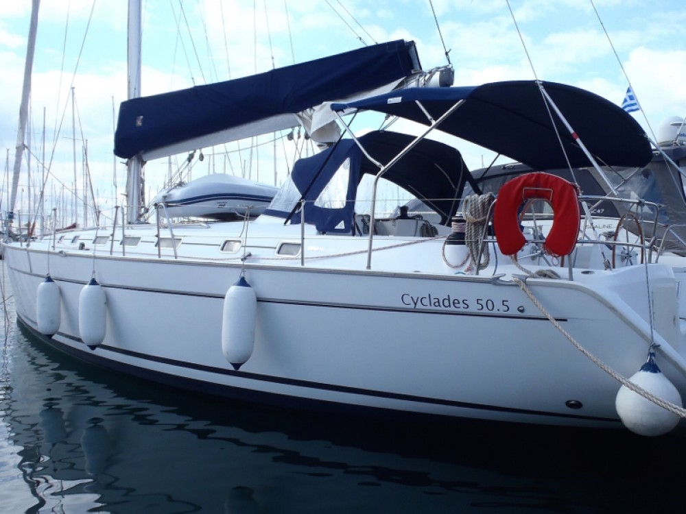 Yacht-Charter in Marina Alimos - Bénéteau Cyclades 50.5 auf SamBoat
