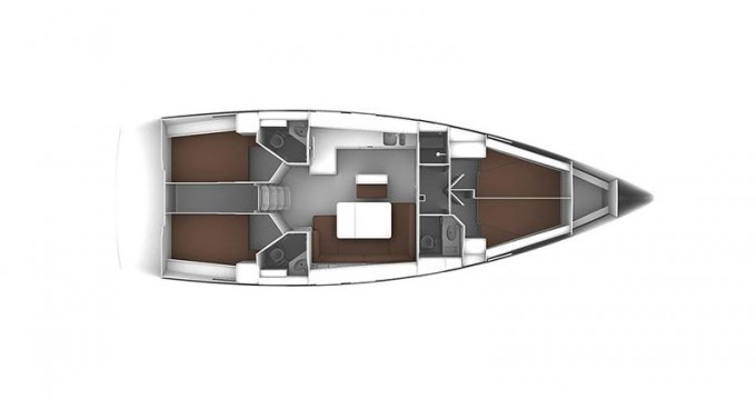 Bootsverleih Lefkada (Island) günstig Cruiser 46