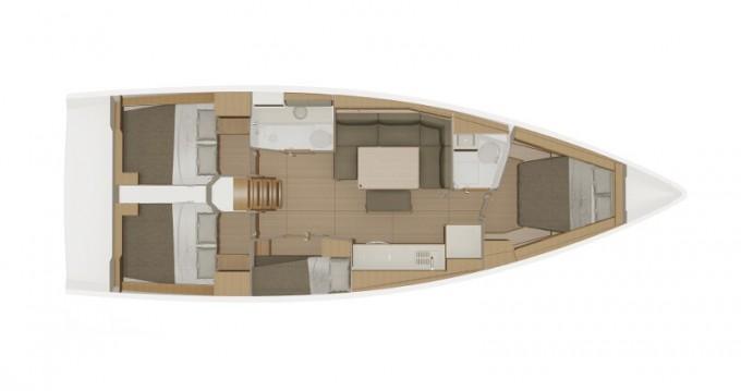 Segelboot mieten in Lefkada - Dufour Dufour 430 Grand Large