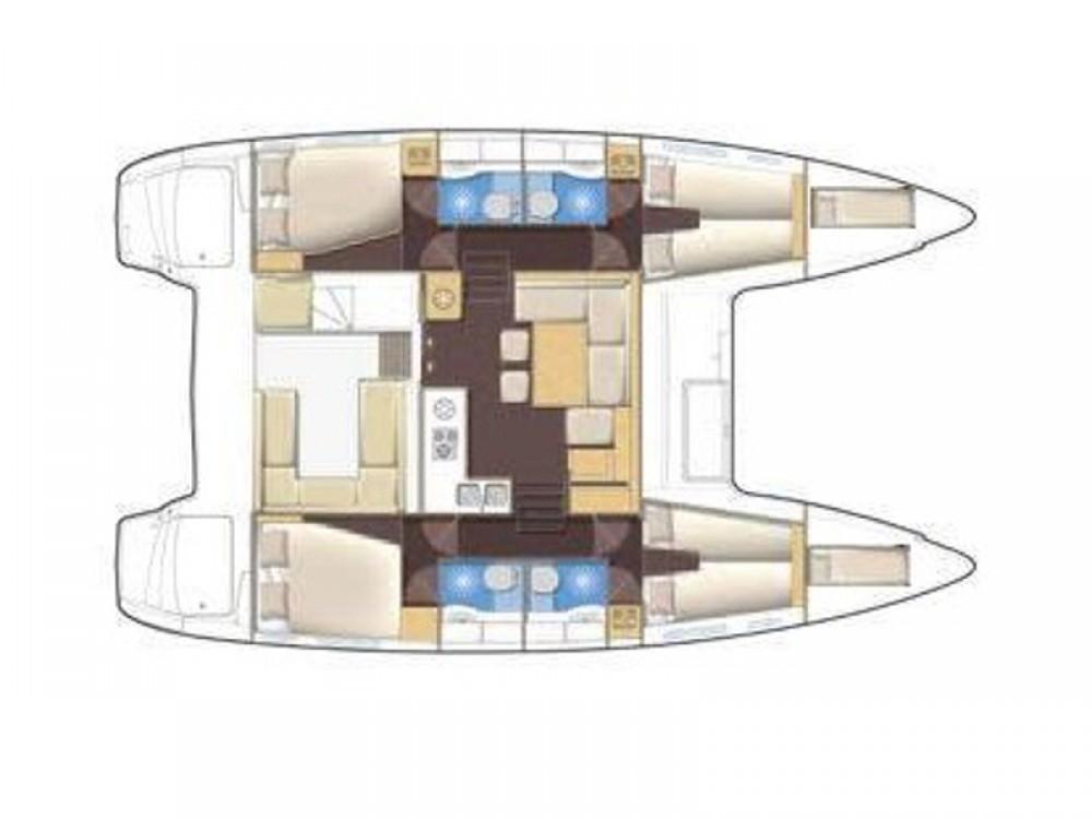 Bootsverleih Lagoon Lagoon 400 S2 Álimos Samboat
