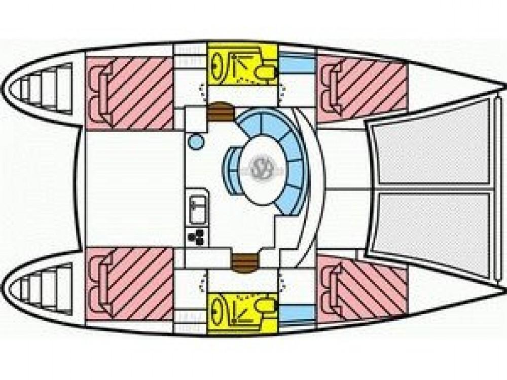Bootsverleih Le Marin günstig Lagoon 380 S2