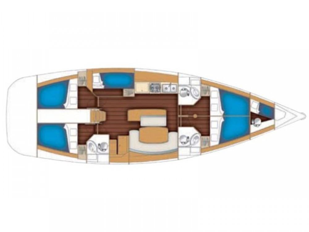 Bootsverleih Bénéteau Cyclades 50.5 Nikiti Samboat
